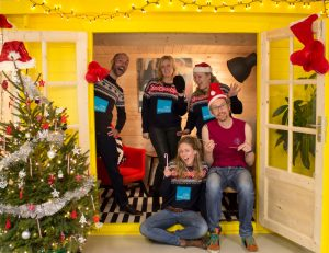 Foto kerstboodschap Zorgbroeders 2017